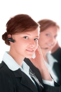 IT help desk professional using empathy to connect with customers providing superb customer service