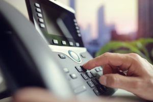 VoIP (Voice over Internet Protocol) Dialing on phone system