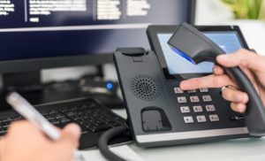 Voice over IP, communication support, call center and customer service help desk